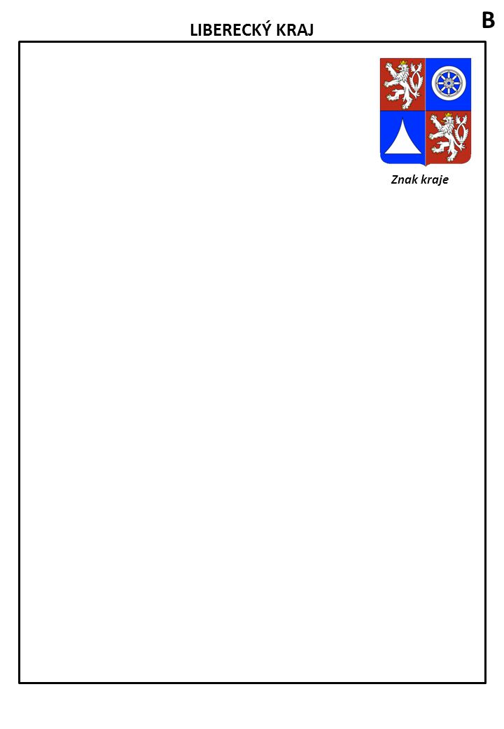 ÚSTECKÝ KRAJ Znak kraje Zakreslete do mapy tato města: Děčín, Ústí nad Labem, Litoměřice, Teplice, Louny, Most a Chomutov.