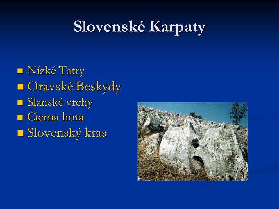 Ukrajinské Karpaty Nejvyšším vrcholem této části je Hoverla (2061 m) Nejvyšším vrcholem této části je Hoverla (2061 m) Východní Beskydy Východní Beskydy Horhany Horhany Vihorlat Vihorlat