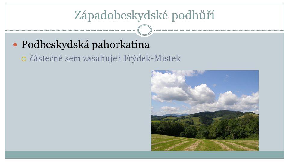 Západní Beskydy Moravskoslezské Beskydy  CHKO Beskydy (největší CHKO v ČR) CHKO Beskydy  nejvyšší horou je Lysá hora (1323 m n.