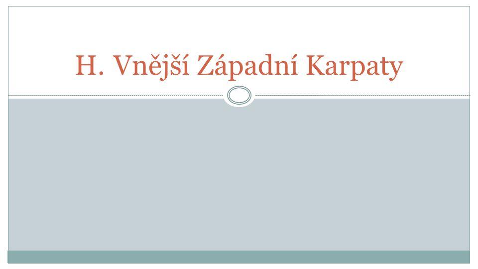 H.Vnější Západní Karpaty