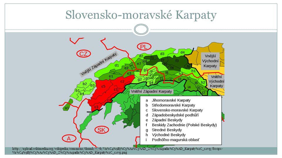 Slovensko-moravské Karpaty http://upload.wikimedia.org/wikipedia/commons/thumb/7/7b/Vn%C4%9Bj%C5%A1%C3%AD_Z%C3%A1padn%C3%AD_Karpaty%2C_c.svg/800px- Vn