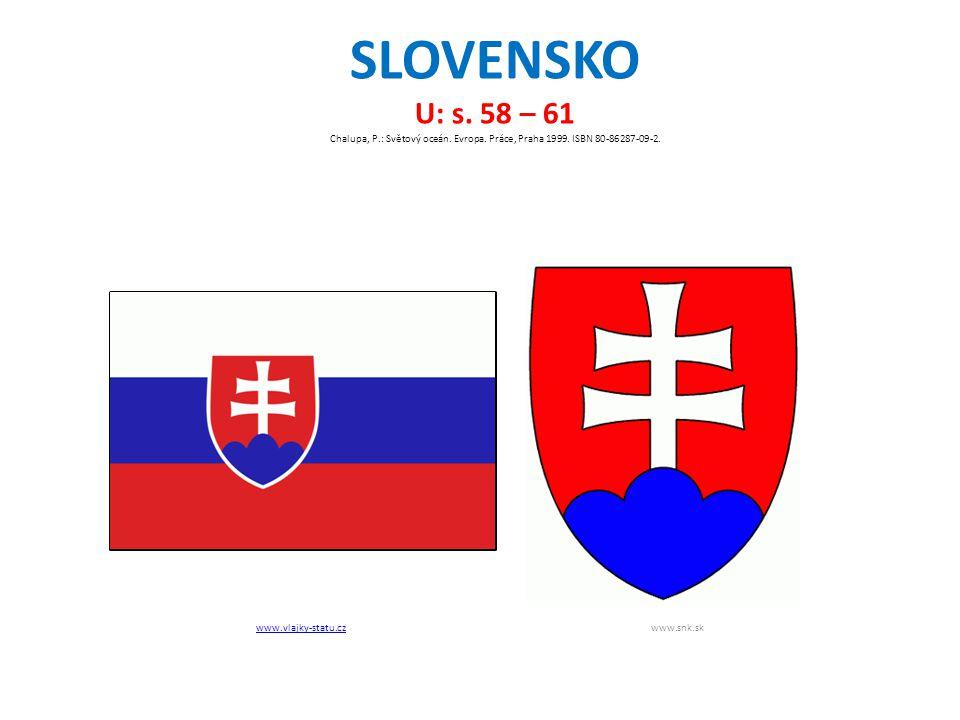 SLOVENSKO U: s. 58 – 61 Chalupa, P.: Světový oceán.