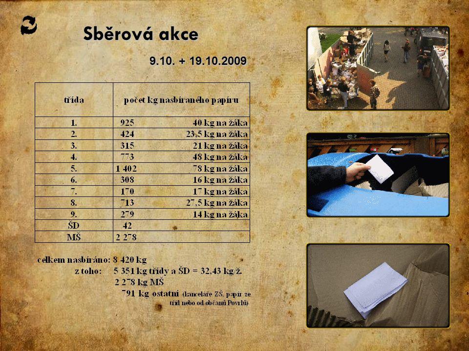 Sběrová akce 9.10. + 19.10.2009