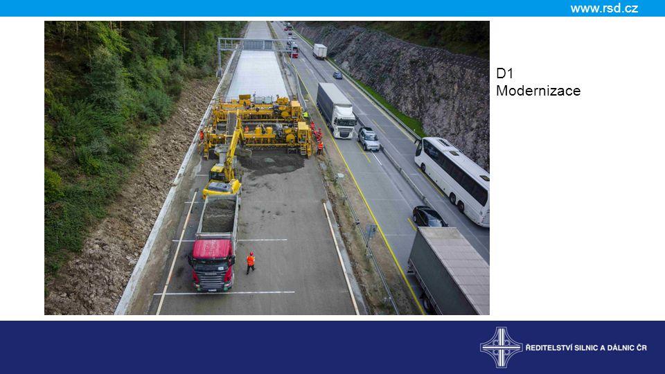www.rsd.cz D1 Modernizace