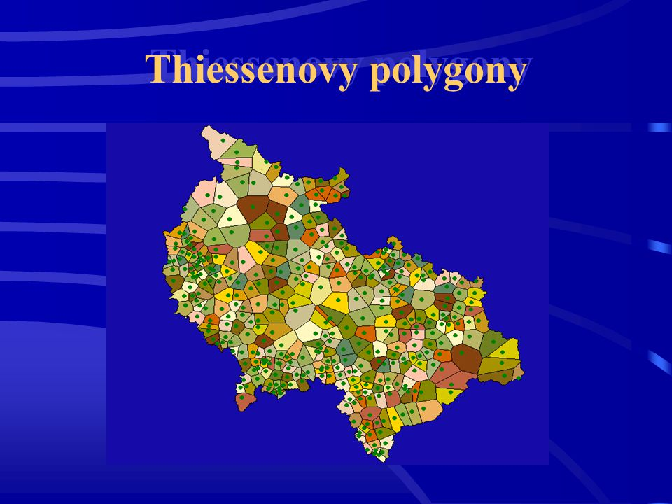 Thiessenovy polygony