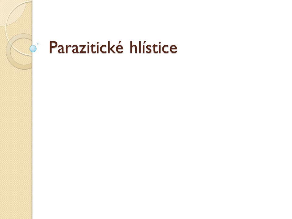 Parazitické hlístice