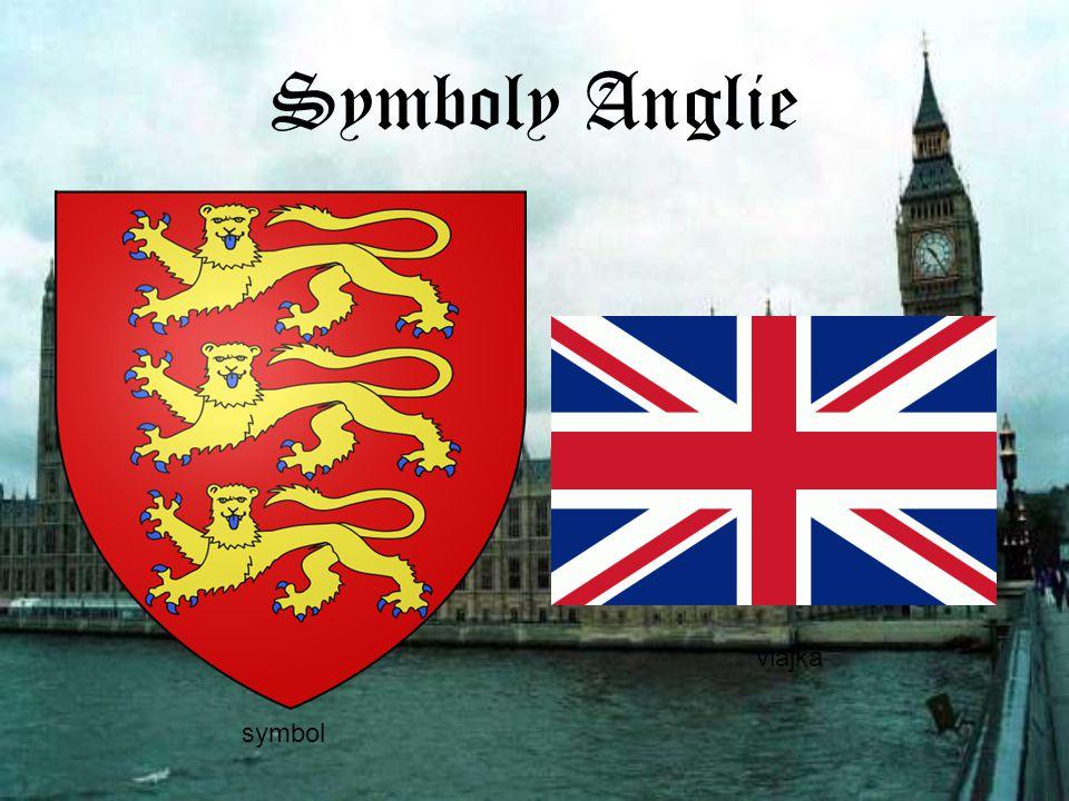 Symboly Anglie vlajka symbol