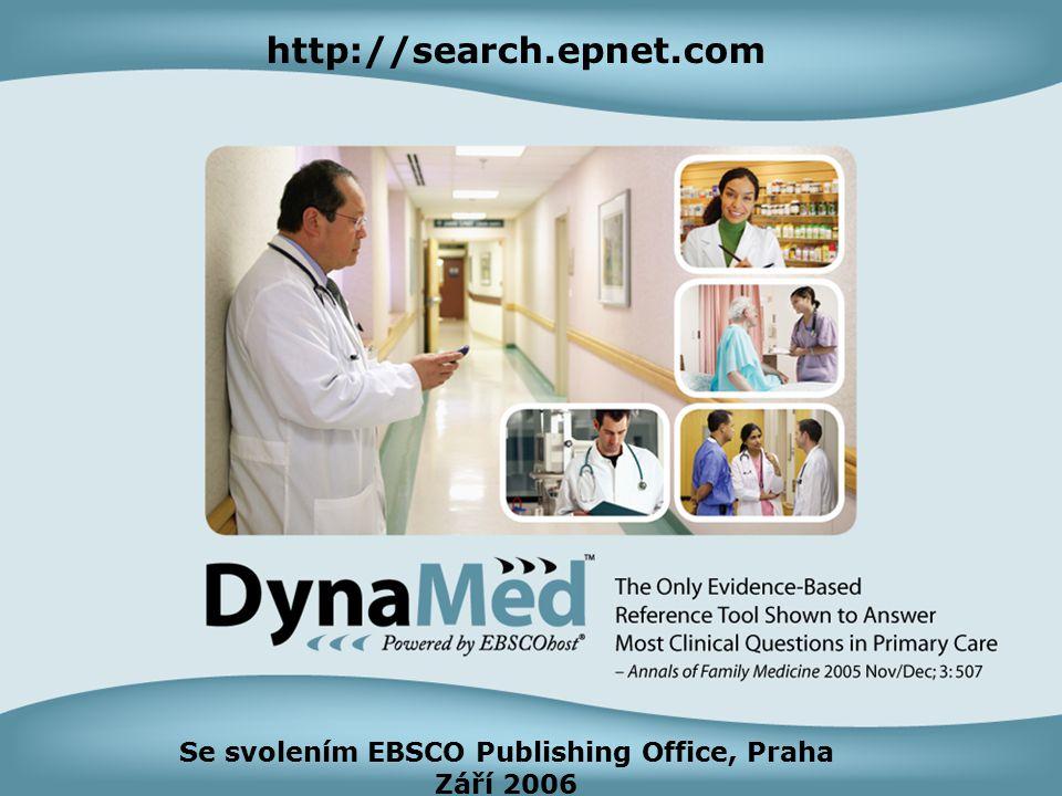 4 Se svolením EBSCO Publishing Office, Praha Září 2006 http://search.epnet.com