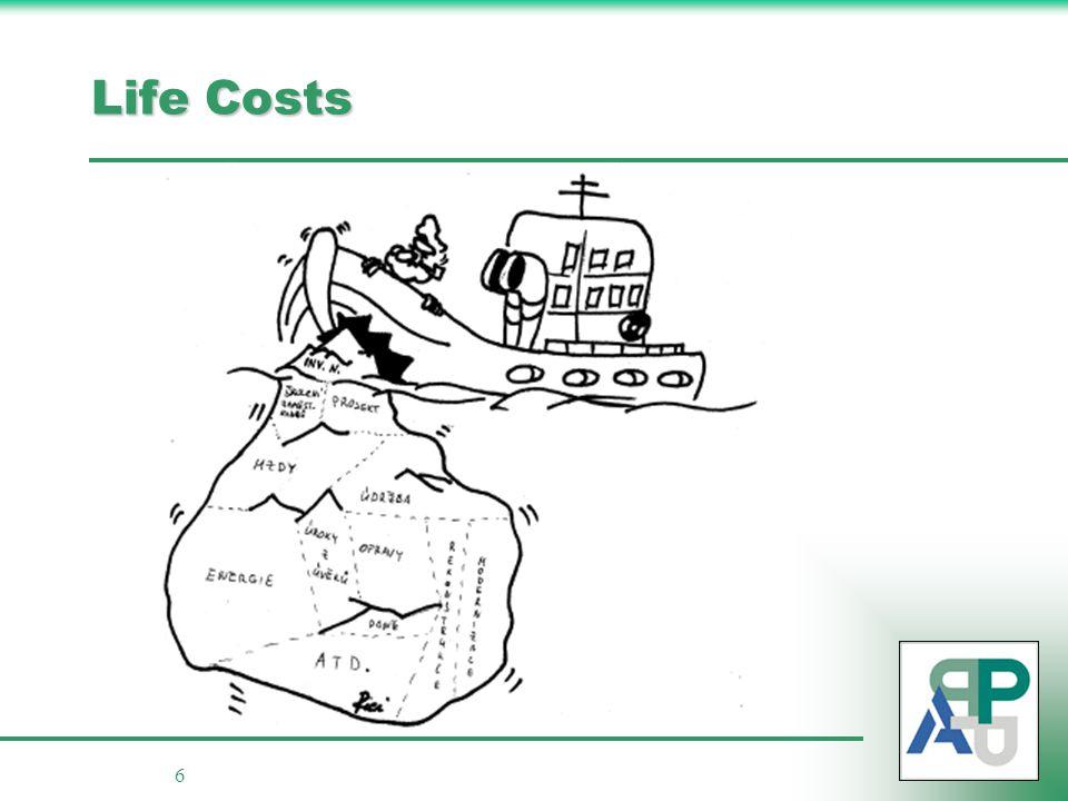 6 Life Costs