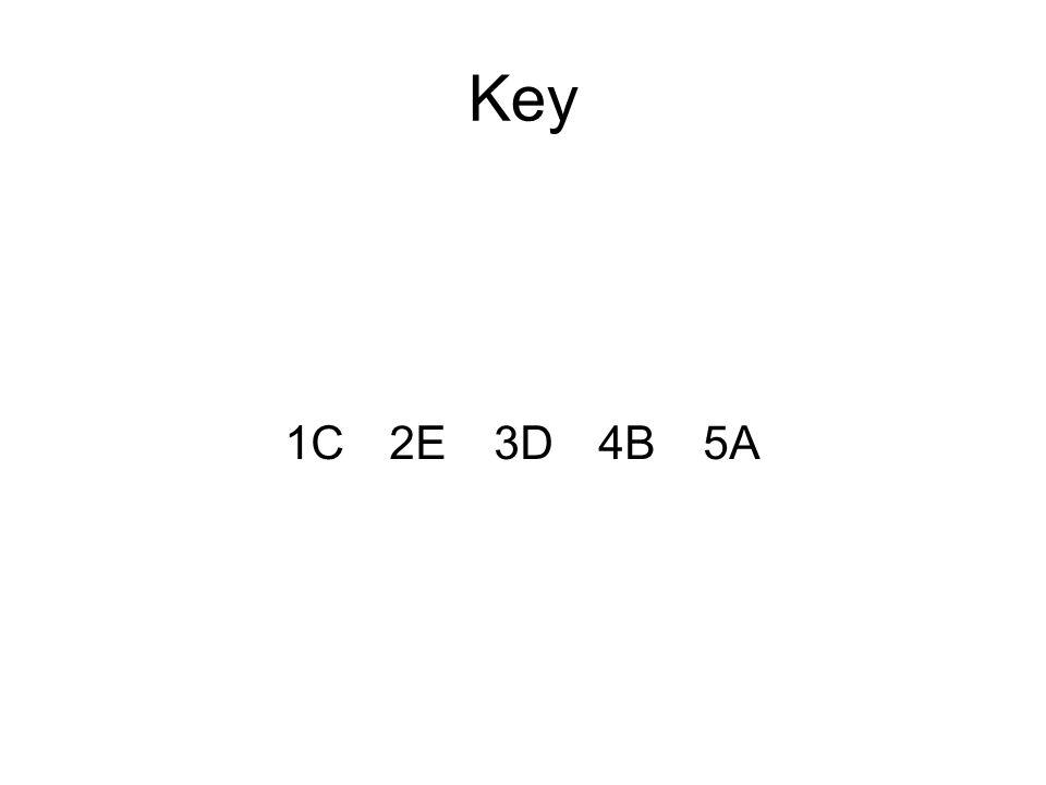 Key 1C2E3D4B5A