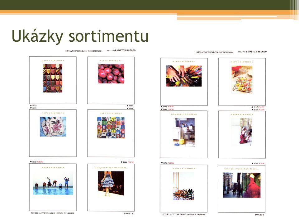Ukázky sortimentu