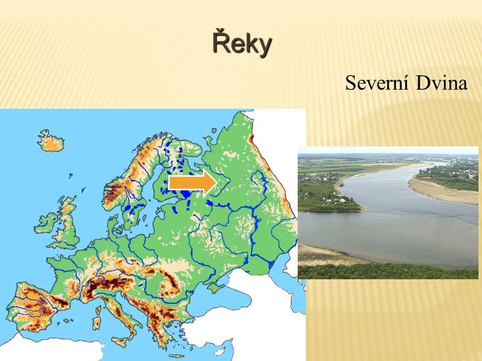 Řeky Severní Dvina