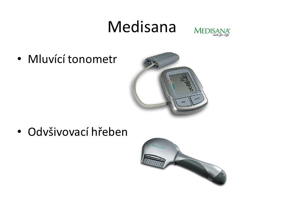 Medisana Mluvící tonometr Odvšivovací hřeben