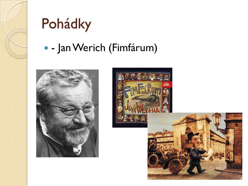 Pohádky - Jan Werich (Fimfárum)