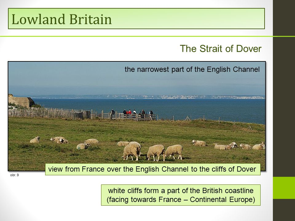 The United Kingdom Lowland Britain The Strait of Dover obr.