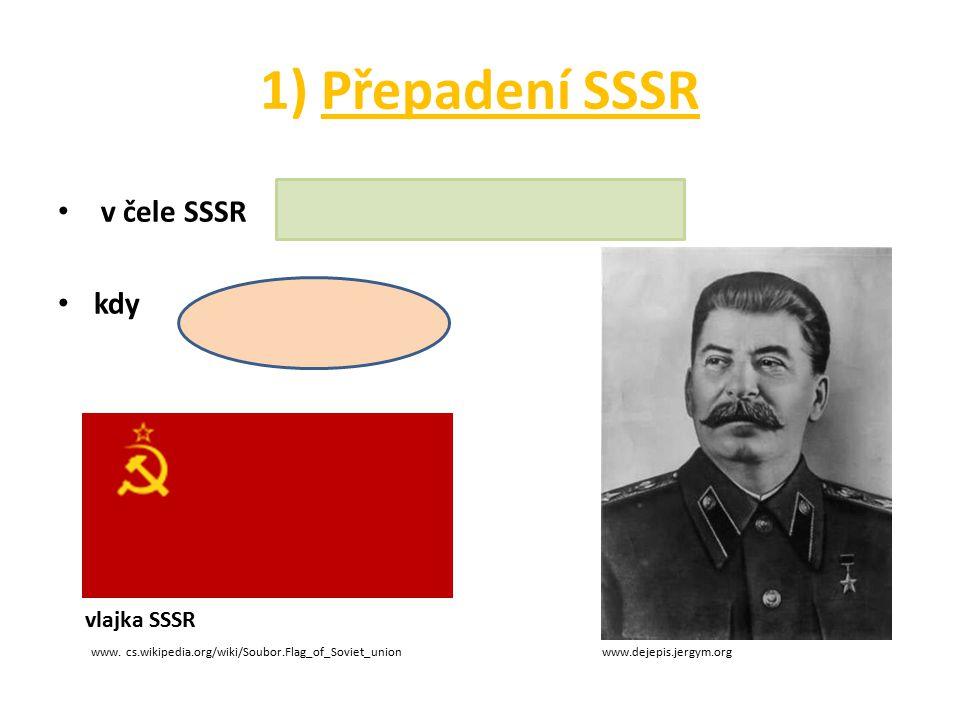 1) Přepadení SSSR v čele SSSR kdy vlajka SSSR www. cs.wikipedia.org/wiki/Soubor.Flag_of_Soviet_union www.dejepis.jergym.org