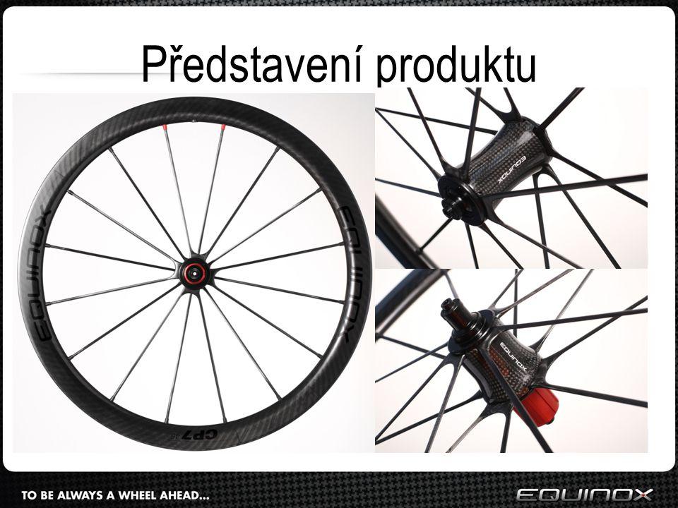 """Karbonová zapletená kola pro cyklistiku Jedinečnost = odlišný design a konstrukce od konkurence (""""carbon spoke wheels ), excelentní jízdní vlastnosti, nízká hmotnost, snadná údržba, profesionální servis to vše za vyváženou cenu"""