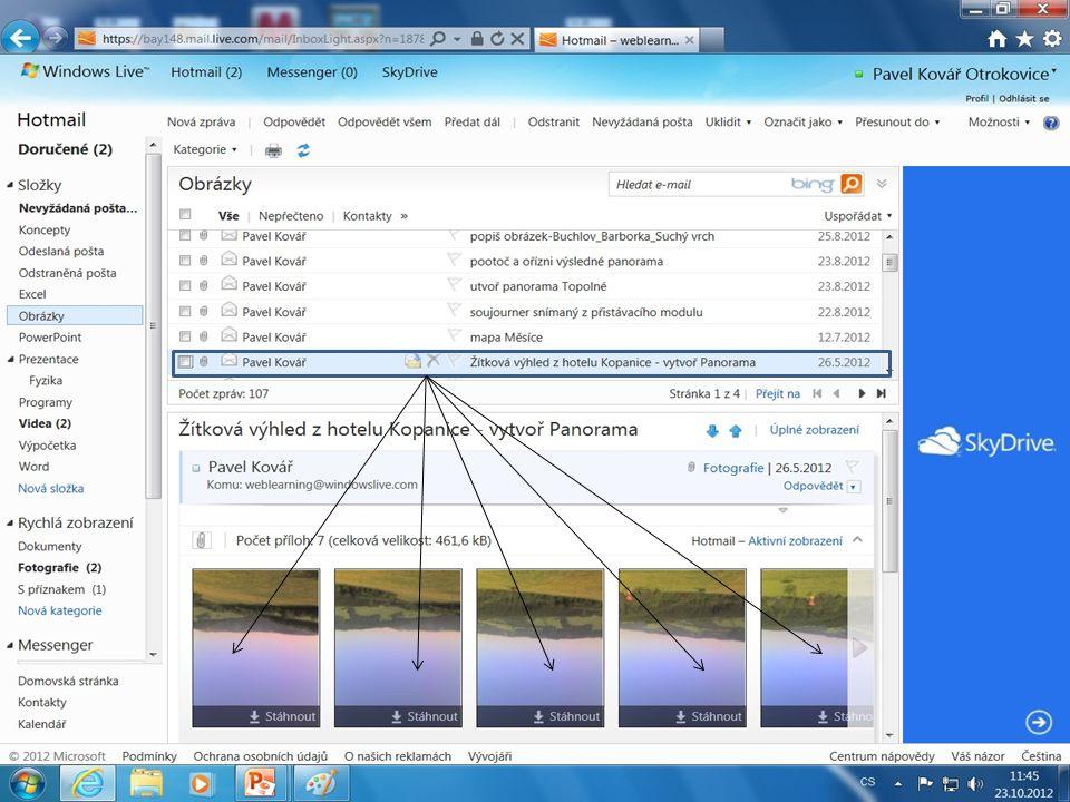 Snímek uložíme a případně barevně doupravíme v prostředí Microsoft Picture Manager