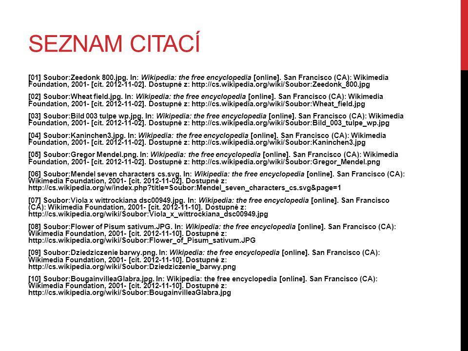 SEZNAM CITACÍ [01] Soubor:Zeedonk 800.jpg. In: Wikipedia: the free encyclopedia [online]. San Francisco (CA): Wikimedia Foundation, 2001- [cit. 2012-1