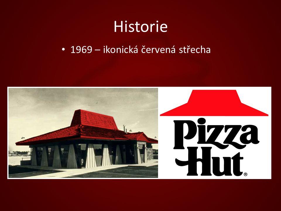 Historie 1969 – ikonická červená střecha