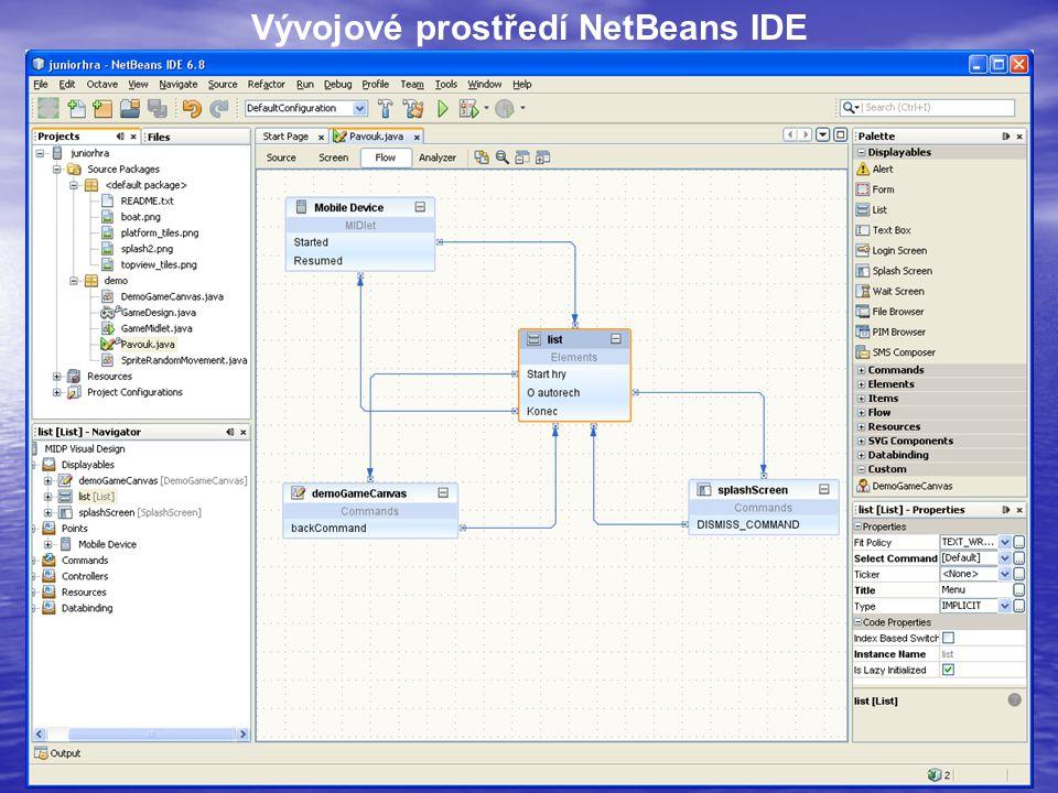 14 Vývojové prostředí NetBeans IDE