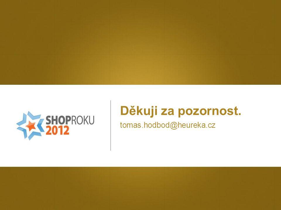 Děkuji za pozornost. tomas.hodbod@heureka.cz