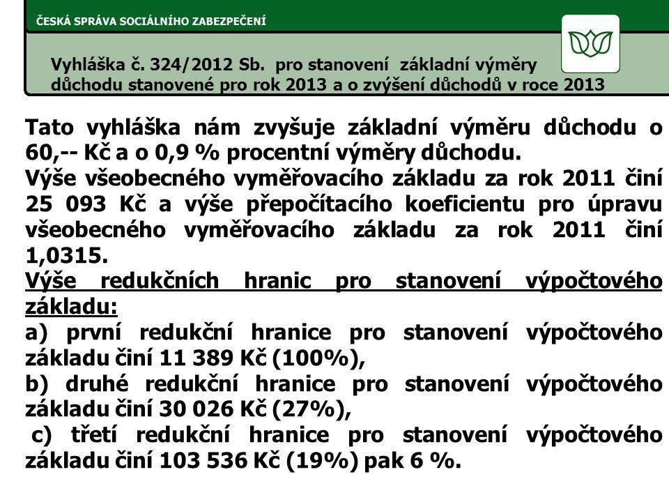 Vyhláška č. 324/2012 Sb.