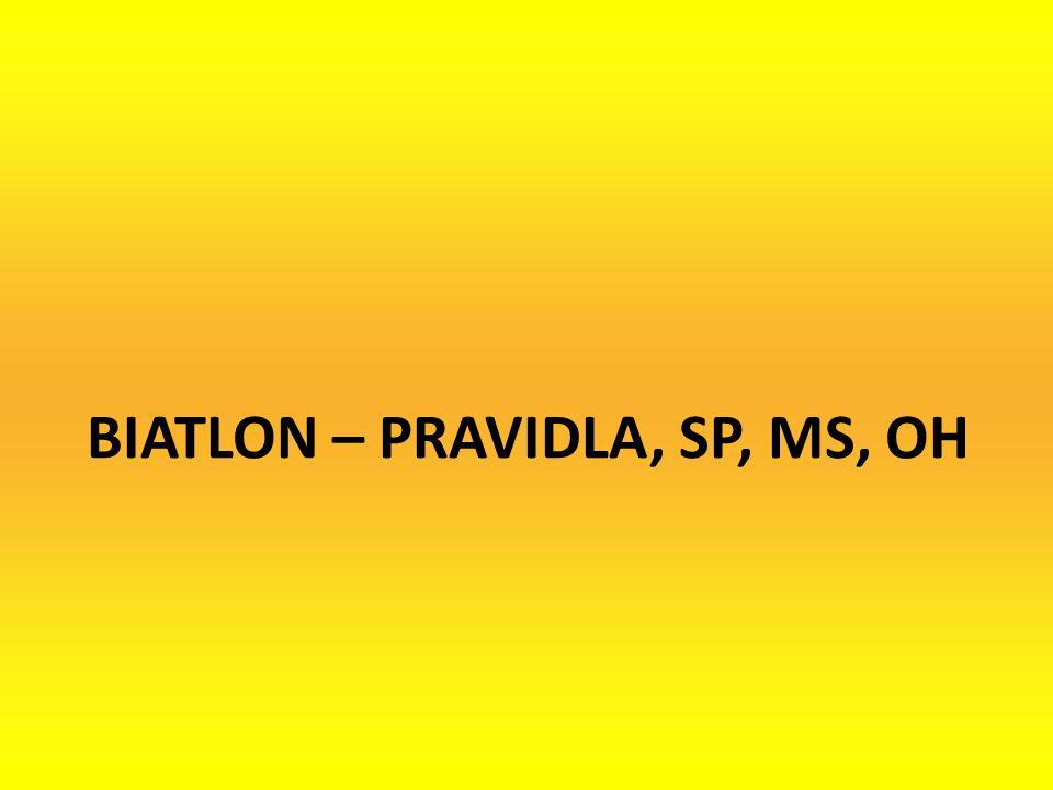BIATLON – PRAVIDLA, SP, MS, OH