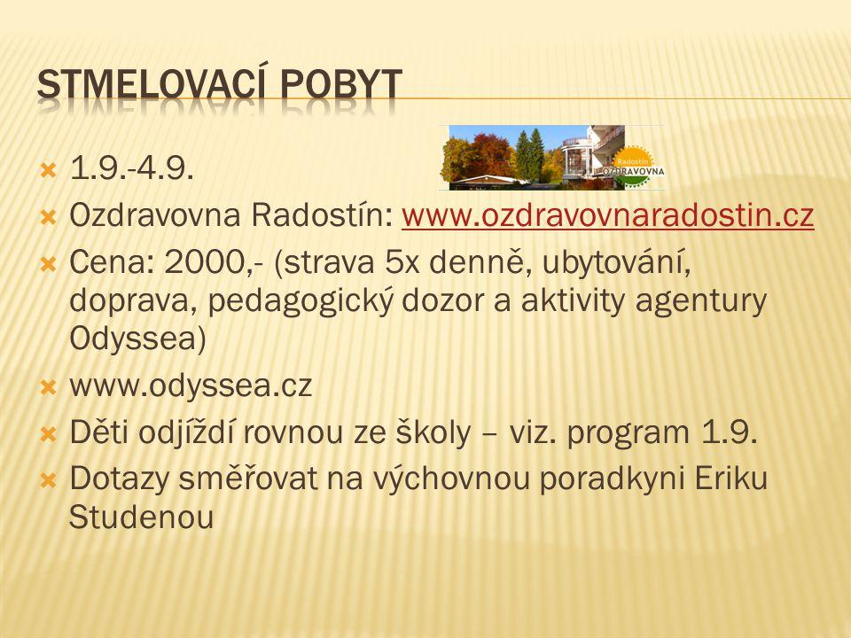  Prosíme, ptejte se  Pokud se dnes zapomenete zeptat, pište na mail: svobodova@gtmskola.cz
