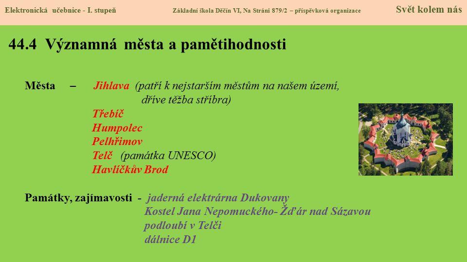 44.5 Procvičení a příklady Elektronická učebnice - I.