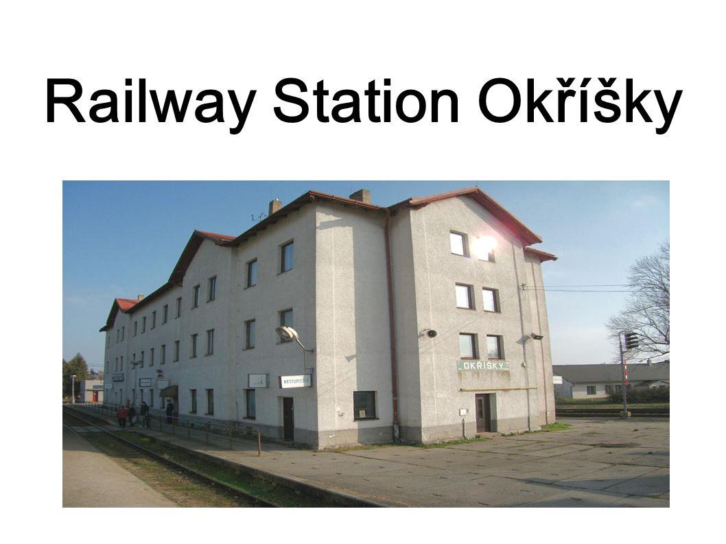 Railway Station Okříšky