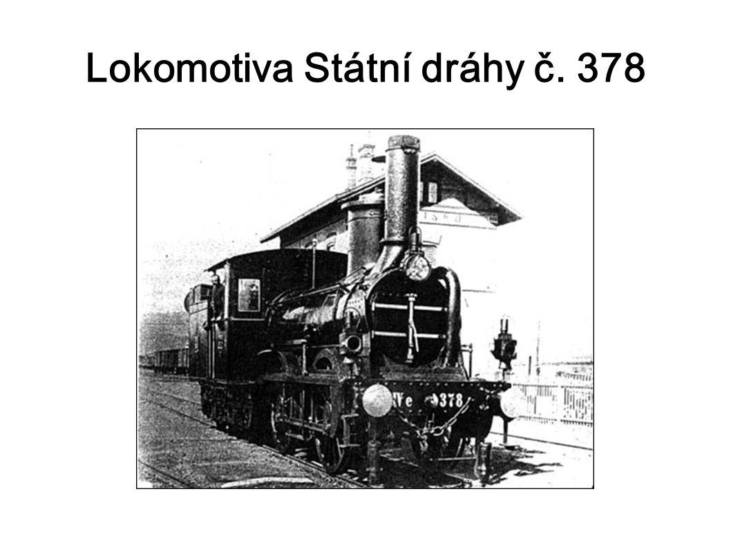 Lokomotiva Státní dráhy č. 378
