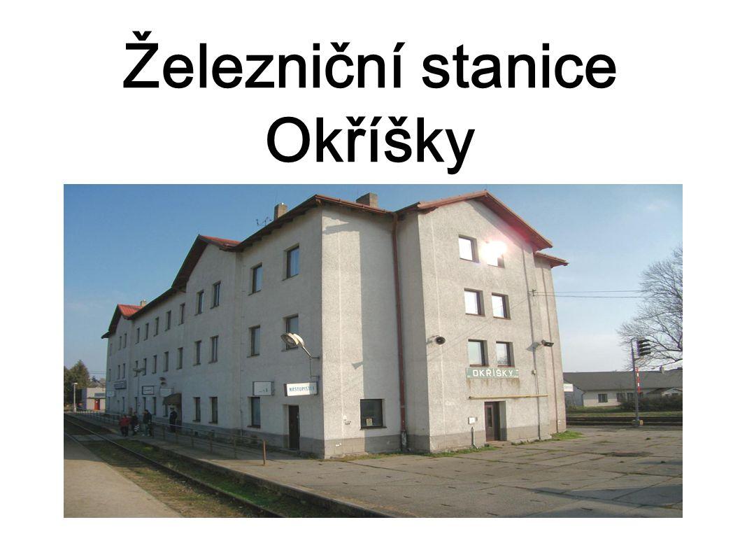 Železniční stanice Okříšky