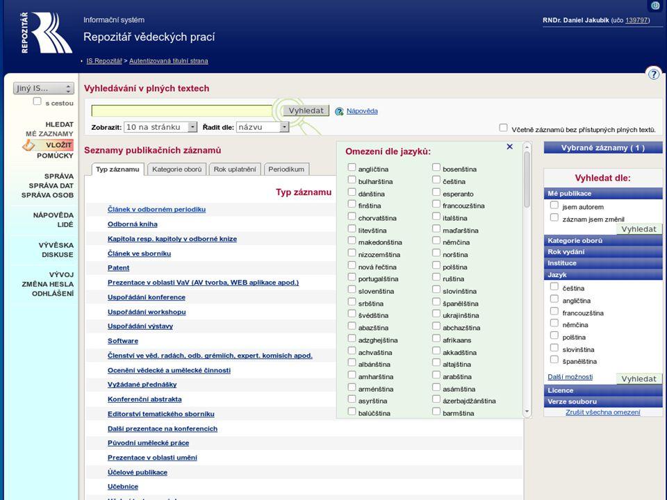 Informační systém Masarykovy univerzity