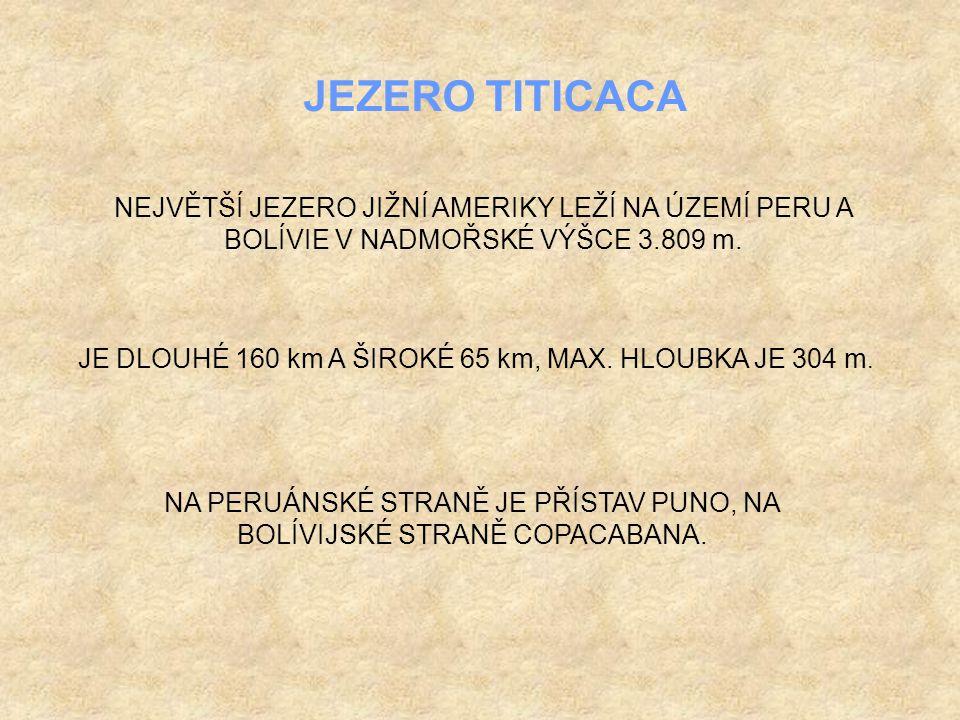 PERU BOLÍVIE JEZERO TITICACA