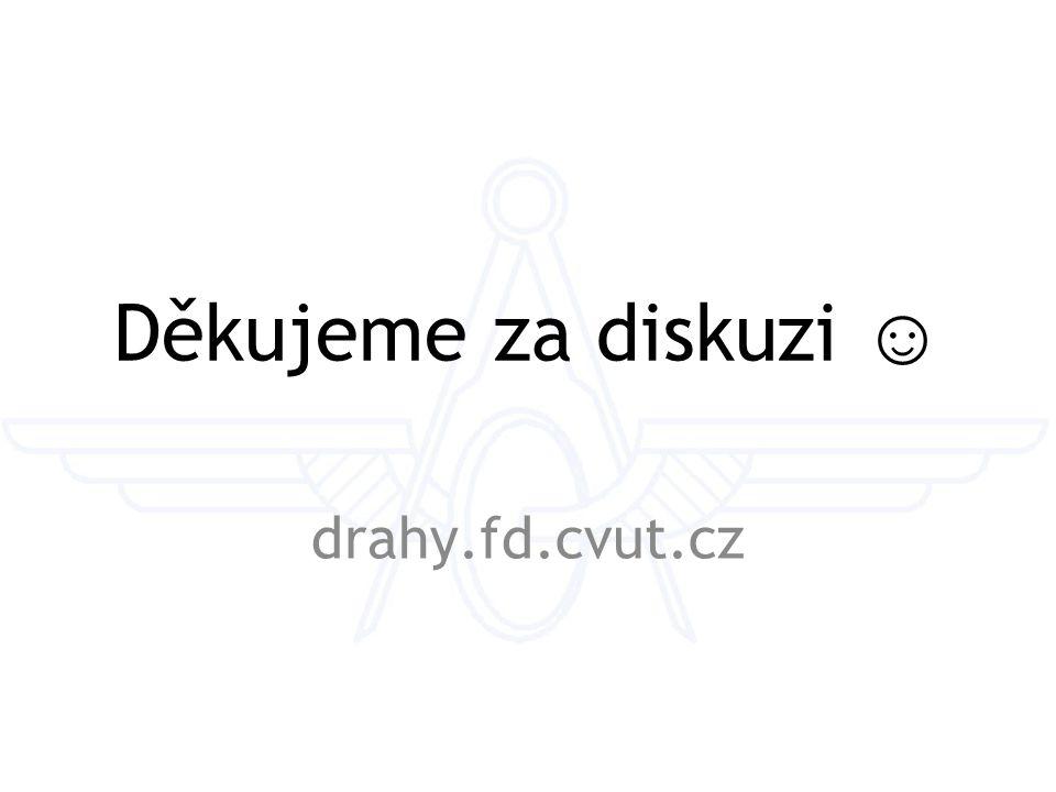 Děkujeme za diskuzi ☺ drahy.fd.cvut.cz