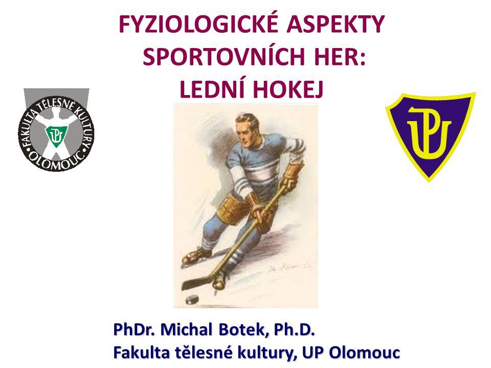 FYZIOLOGICKÉ ASPEKTY SPORTOVNÍCH HER: LEDNÍ HOKEJ PhDr. Michal Botek, Ph.D. Fakulta tělesné kultury, UP Olomouc