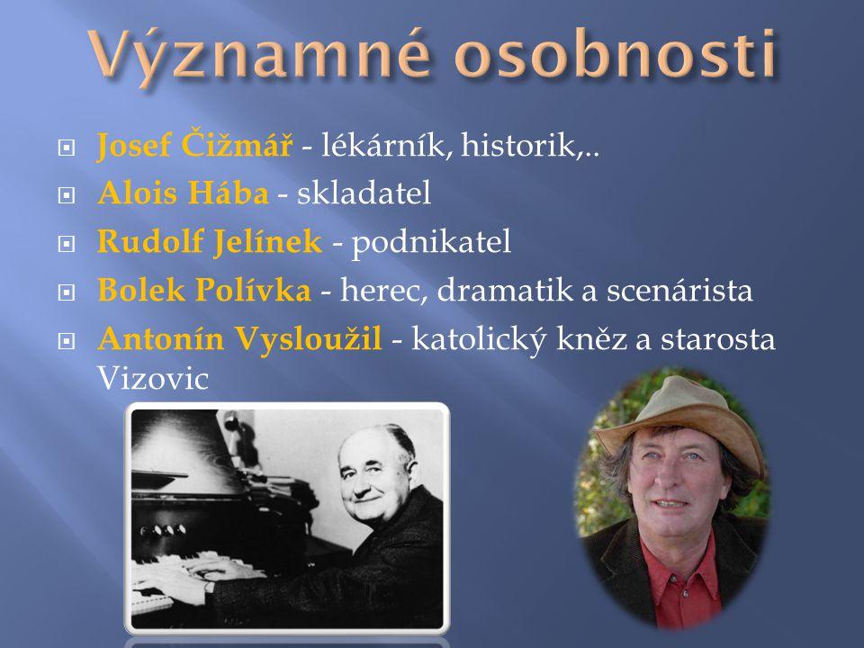  Josef Čižmář - lékárník, historik,..