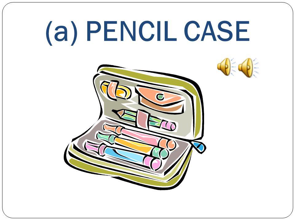 (a) PENCIL CASE