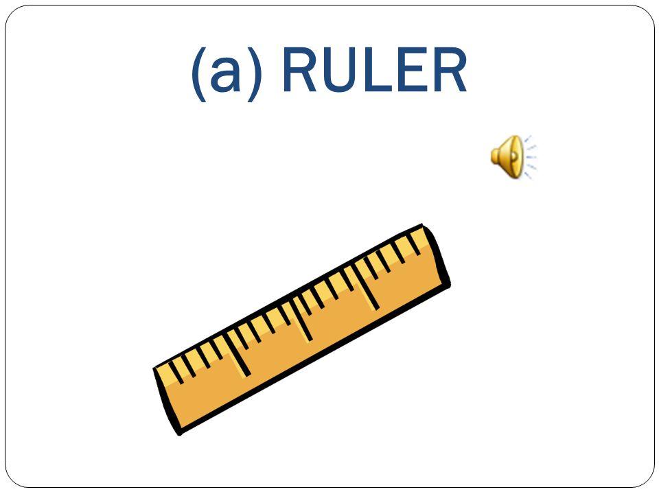 (a) RULER