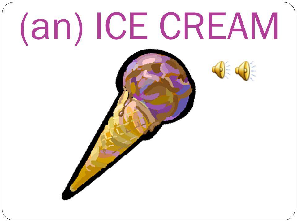 WHAT'S THIS? THIS IS a) an EGG b) TEA c) an ICE CREAM