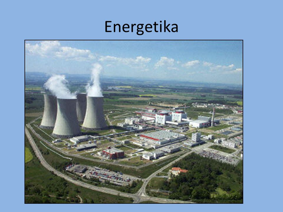 výroba elektřiny a tepla problém skladovatelnosti nízká účinnost zdrojů ztráty při přenosu vliv na životní prostředí vojensko-strategické aspekty nové technologie (vodík, jaderná fúze) ČR je vývozcem energie