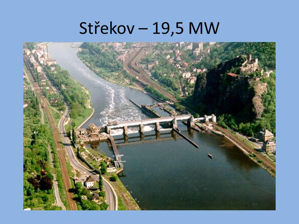 Střekov – 19,5 MW