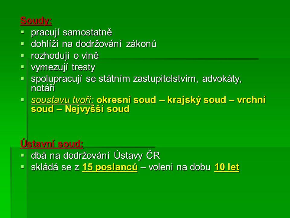 Kontrolní otázka: JJJJak dělíme politický systém ČR? Popiš ho.