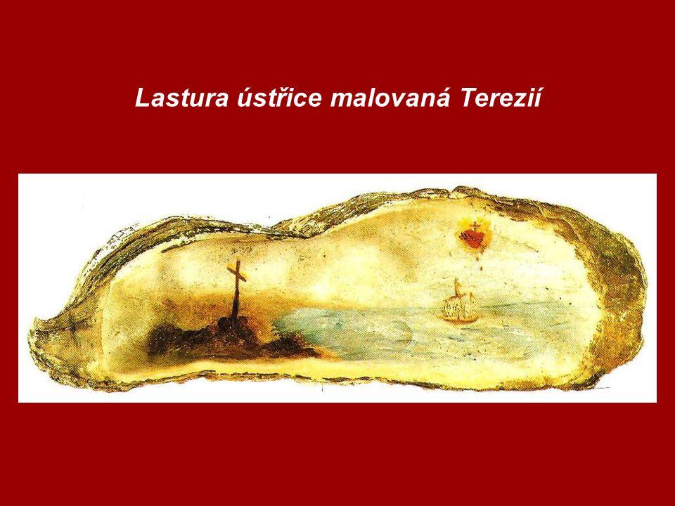 Lastura ústřice malovaná Terezií