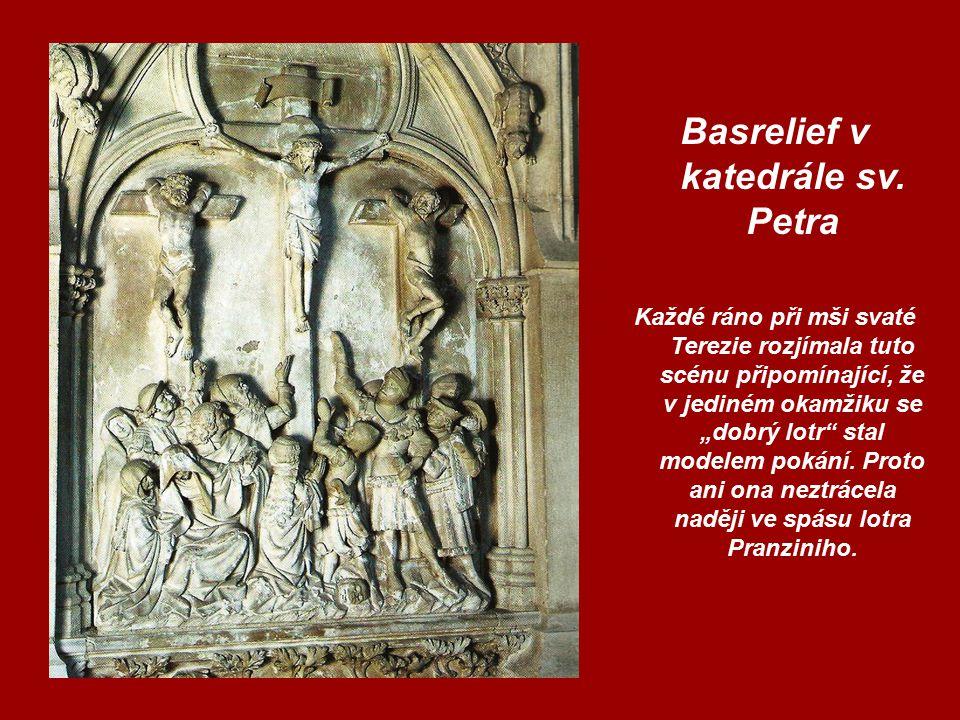 Basrelief v katedrále sv.