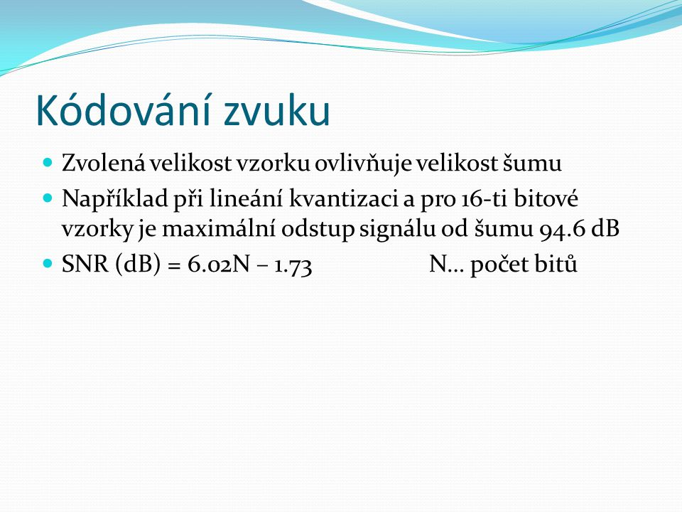 SIP – příklad požadavku INVITE sip:0800123456@192.168.1.11 SIP/2.0 Accept: application/sdp Call-ID: d5661-134f1-eb52e-d5661-3d541@192.168.40.143 Contact: sip:1034@192.168.40.143:5060 CSeq: 101 INVITE Expires: 1000 From: Vladimir Toncar ;tag=ff177c16ff177c16 To: Via: SIP/2.0/UDP 192.168.40.143:5060 Content-Type: application/sdp Content-Length: 152 v=0 o=TinyPhone 19505 19505 IN IP4 192.168.40.143 s=SIP Call c=IN IP4 192.168.40.143 t=0 0 m=audio 48256 RTP/AVP 18 101 a=rtpmap:18 g729a/8000