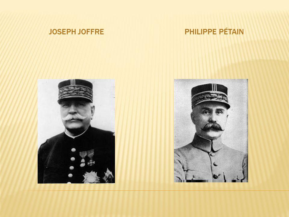 JOSEPH JOFFREPHILIPPE PÉTAIN