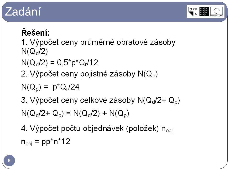 1.Setřídění: Položky třídíme dle ročního obratu – sloupec 2 sestupně ↓.