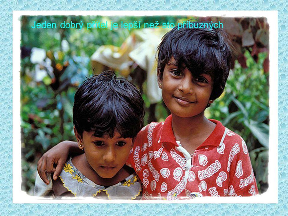 Jeden dobrý přítel je lepší než sto příbuzných
